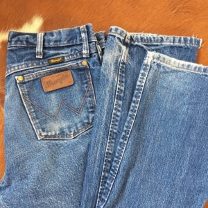 Wrangler distressed denim pants