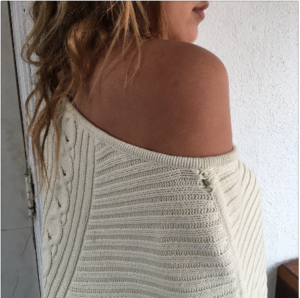 Calvin Klein Poncho Knit Cover Up