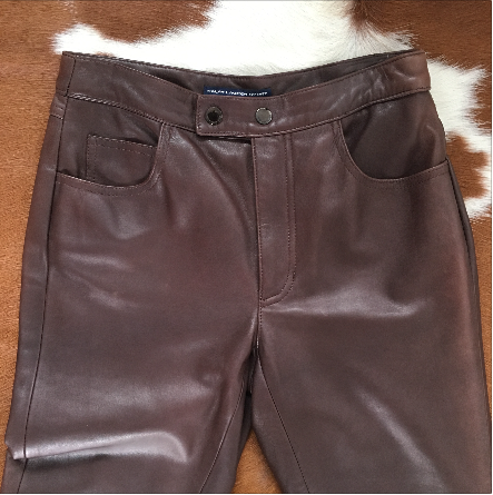 hot-seeling original highly coveted range of hot-selling latest Ralph Lauren Leather Pants