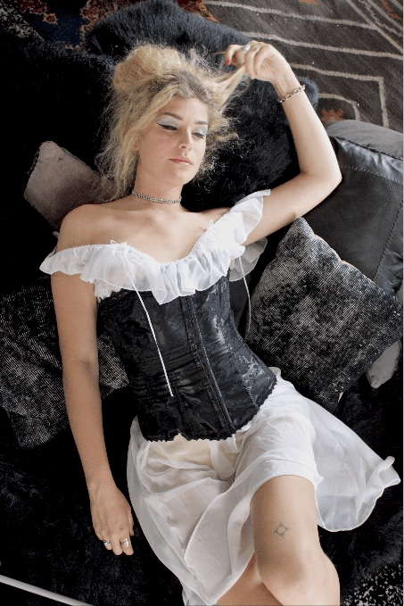 Frederick's of Hollywood Black Corset