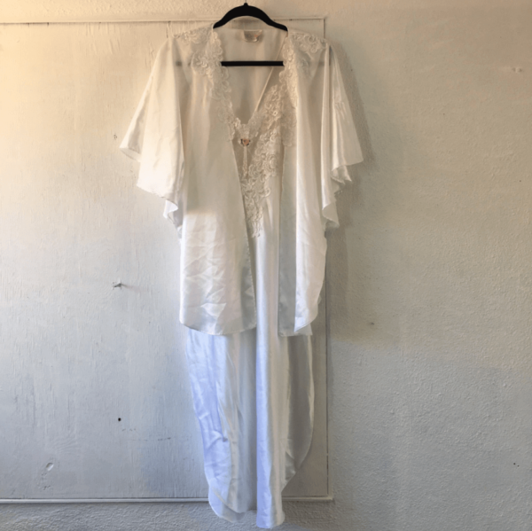vintage western nightgown and robe set