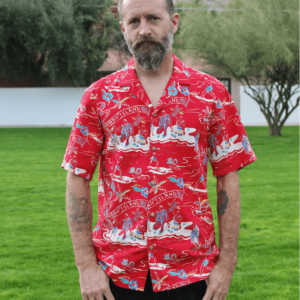 Paradise Found Surfers Hawaiian Shirt