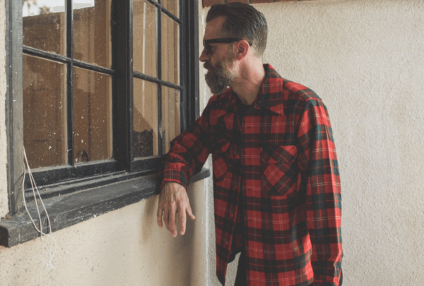 Red Plaid Pendleton Flannel