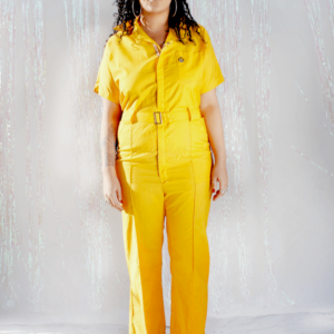 70s Coveralls in Yellow Size Womens Medium